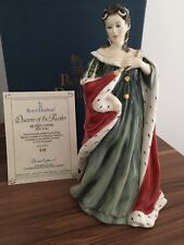 ROYAL DOULTON QUEEN ANNE BOXED AND CERTIFICATE hn3141