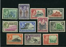 BRITISH SOLOMON ISLANDS #67-78, no #73 &#79 * mint hinged Cat Value $46 - stamps
