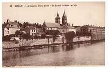 CPA 77 - MELUN (Seine et Marne) 42. Le Quartier Notre-Dame et la Maison Centrale