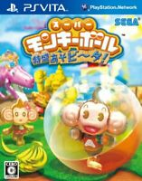 USED ​​PS VITA Super Monkey Ball Taimaru soba ~ ta! Japan Import