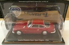 """DIE CAST """"LANCIA FLAMINIA SUPER SPORT ZAGATO 1964"""" + TECA RIGIDA BOX2 SCALA 1/43"""
