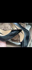 Gianvito Rossi Lux  Black Pump Heels Size 37