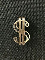 LOU COSTELLO ORIG. 1953 ONE-OF-A-KIND PERSONALLY WORN/USED BRASS MONEY CLIP!!!!!