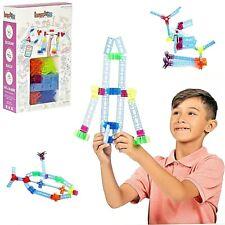 44 Pc Brackitz Inventor Educational Building Building Blocks Kid STEM Learning