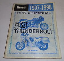 Werkstatthandbuch / Workshop Manual Harley Davidson Buell S3 / S3T Thunderbolt