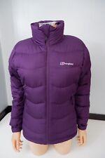 Berghaus Purple Coat Jacekt Size Uk 10 VGC Padded