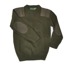 Sweater Child Green Army Age 12 Years