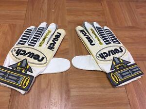 VTG🔥 Reusch Bundesliga Goalkeeper Football Soccer Gloves Retro Futbol Vintage