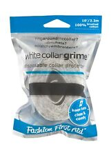 White Collar Grime: Adhesive Collar & Hat Protectors - Dirty Ring Around Collar