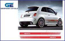 500 Aufkleber Sticker #228 Karo Fiat 500 Abarth