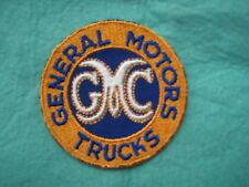 """Vintage GMC General Motors Trucks Stovebolt  Dealer Service Patch 3 X 3"""""""
