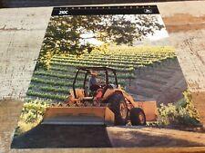 1991 JOHN DEERE 210C LANDSCAPE LOADER Original Sales Brochure