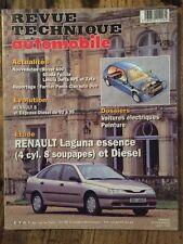 Revue Technique Automobile RENAULT Laguna essence (4 cyl. 8 soupapes) et Diesel