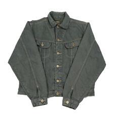 Vintage LEE RIDER Denim Jacket | Small | Retro Coat Biker Trucker Jean Collared