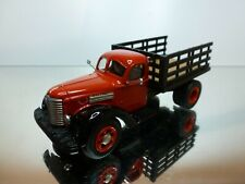 US MODEL MINT 19 INTERNATIONAL KB12 1947 TRUCK - RED 1:43 - VERY GOOD CONDITION