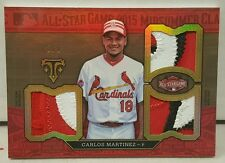 2016 Triple Threads Carlos Martinez All Star Game Triple Patch #8/9