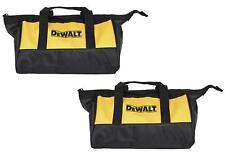 """2 New DeWalt 12 Inch Mini Heavy Duty Tool Bags 12""""L x 9""""W x 7""""D"""