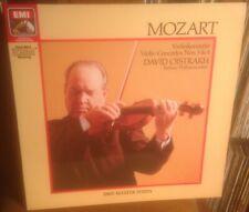 EMI EG 2902761 MOZART violin concertos nos.3 & 4 DAVID OISTRAKH 1985 DIGITAL LP