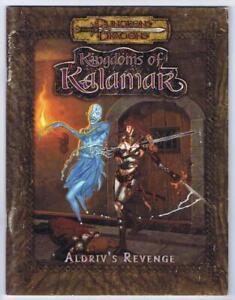 Aldriv's Revenge (Kingdoms Kalamar D&D 3.0 d20 adventure 2001 Kenzer & Co.)