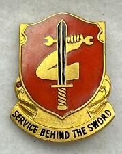 Original:  WW2   185  Ordnance  DI / DUI / Crest   PB