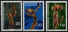 Liechtenstein 1972 SG#557-9 Natural ART Gomma integra, non linguellato Set #D59381