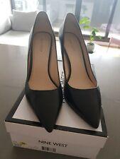 Nine West Women's Martina Black Shoes Stilettos Size 11 In Box