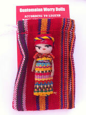 GUATEMALAN WORRY DOLLS - FAIR TRADE- POUCH AND DOLL
