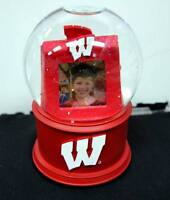 NCAA Officially Licensed University of Wisconsin Photo Musical Glass Waterglobe