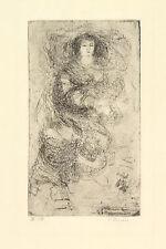 C.Donin (Christoph Donin Austrian ,B.1930)Portraits Original Etching Signed ED10