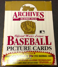 1991 Topps Archives 1953 Reprint Hobby Box Mickey Mantle