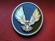 WILD EAGLE CAR / BIKE BADGE ChromeMetal Emblem NEW UNIQUE suit HARLEY-DAVIDSON