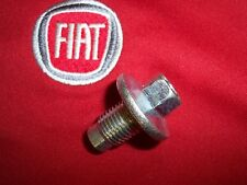 Cinquecento Fiat 500 1.4lt engine oil pan drain plug oem new 6507741AA Ciao!