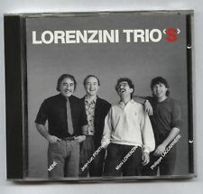 "LORENZINI TRIO'S ""S/T"" FRENCH jazz ORIG CD MUSEA (1989) NMINT"