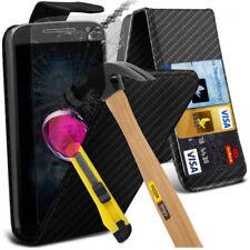 Étuis, housses et coques etuis portefeuilles Motorola Moto G en fibre de carbone pour téléphone mobile et assistant personnel (PDA)
