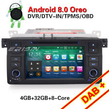HD BMW E46 M3 3er 318 320 Rover75 MG ZT Autoradio DAB+ Android 8.0 GPS Navi DVD