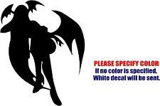 """Vampire Hunter Morrigan Decal Sticker JDM Funny Vinyl Car Window Bumper Truck 7"""""""
