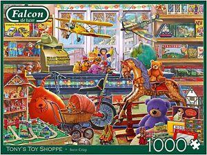 1000 Piece Jigsaw Puzzle Falcon De Luxe Tonys Toy Shoppe Jumbo Steve Crisp
