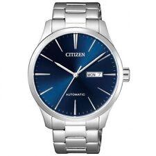 Citizen NH8350-88L Blue Dial Silver Automatic Men's Analog Watch