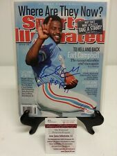 Earl Campbell Signed SI Sports Illustrated 7-9-16 No Label JSA W490998 Oilers