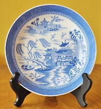 Antique Transferware Staffordshire Copeland Spode Bowl Mandarin Blue Willow 1327