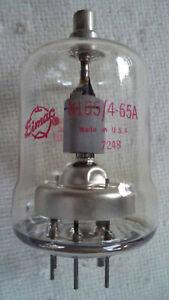 NOS Eimac 8165 / 4-65A Radio Beam Power Tetrode Tube - Amplifier, Osc, Modulator