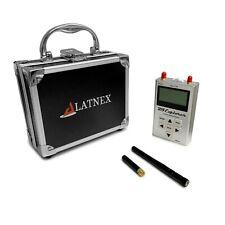 Rf Explorer Handheld Spectrum Analyzer Wifi Combo With Aluminum Carrying Case