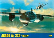 ARADO Ar 234 B2/N BLITZ / NACHTIGALL - WW II GERMAN JET BOMBER 1/48 GOMIX RARE!