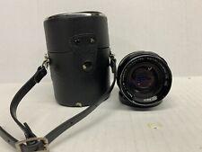 Petri 55mm F/1.8 CC Auto Black manual focus Lens -X23