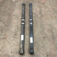 Ford Transit Custom 2014   2 x Rear Lowering  Leaf Springs A Rated