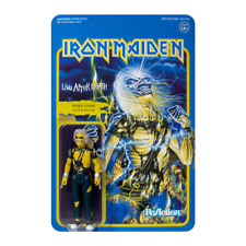 """IRON MAIDEN - Risen Live After Death Eddie Action Figure Toy ReAction 3.75"""""""
