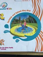 Sprinkle And Splash Playmat New 68 Inches Age 18 Months Plus