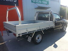 75mm Rear Ladder Rack Removable to suit a 1875mm Wide Tray FREE FREIGHT