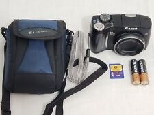 CANON PowerShot SX100 IS 8 MP Point & Shoot COMPACT DIGITAL CAMERA BUNDLE