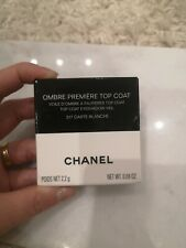 Chanel Ombre Premiere Top Coat eyeshadow veil 317 carte blanche